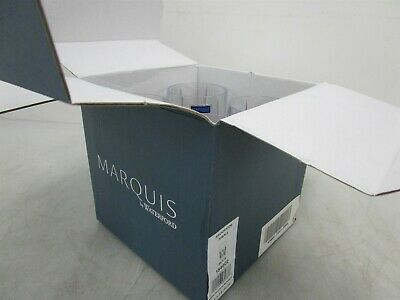 Marquis by Waterford Brookside Hiball Set of 4 Glass IOB