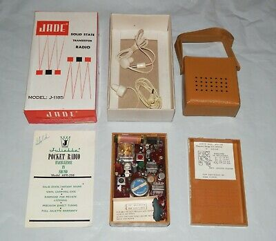 Vintage 1960s Juliette APR-206 Solid State AM Transistor Radio