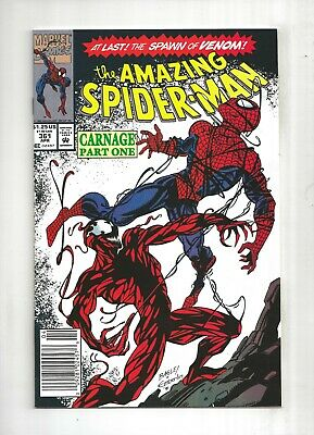 AMAZING SPIDER-MAN #361 1st Carnage, Venom, 9.2 NM-, Marvel