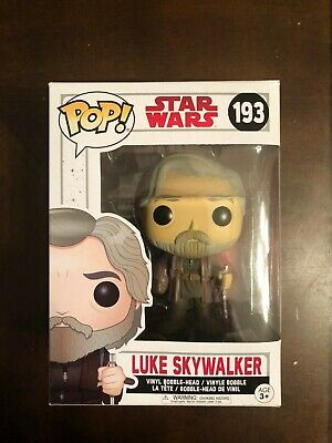 Funko Pop! Star Wars: The Last Jedi - Luke Skywalker Action Figure #193