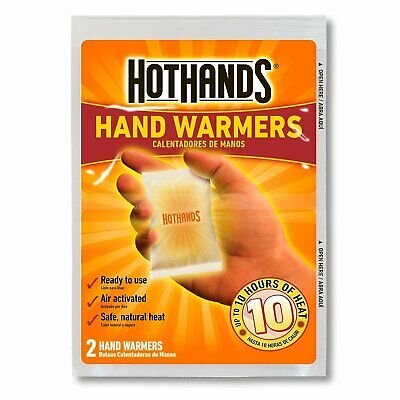40 Warmers Heater Hot Hands Hand Warmers Long Heat Up to 10 Hours 20 Pairs