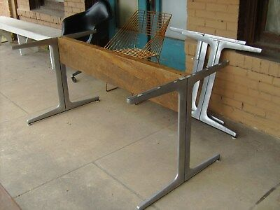 George Nelson For Herman Miller Table Base Aluminum Group Uncommon Eames
