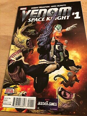 VENOM SPACE KNIGHT #1 NEAR MINT (2016 SERIES) UNREAD MARVEL bin-2017-6156