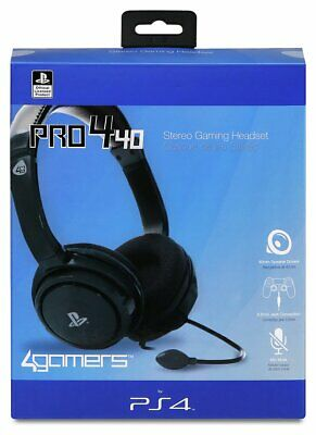 4Gamers PRO4-40 Stereo Gaming Headset PS4