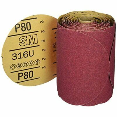 """3M Production 01116 Stikit Red Abrasive Disc for Shaping and Paint Removal - 6"""""""
