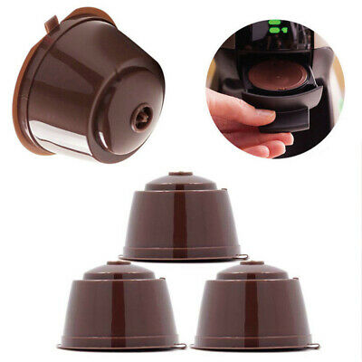 Refillable Coffee Capsule Pod Filter Cup Holder for Dolce Gusto Filter I Cafilas