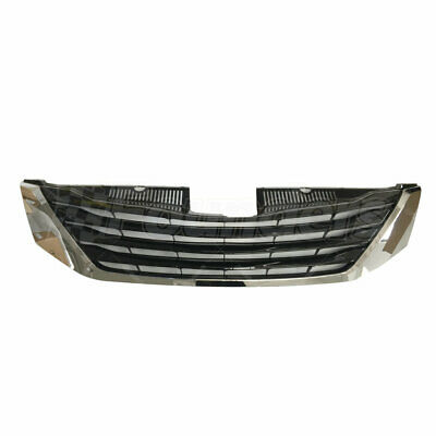 Front Grille W/Black Insert Le Model Fits 2011-2017 Toyota Sienna 5310108080