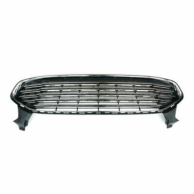 Bumper Upper Grille Assembly Fits 2013-2016 Ford Fusion DS7Z8200BA DS7Z8200GA