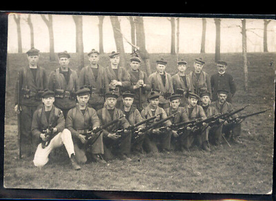 Cherbourg Fusiliers Marins Photo Carte