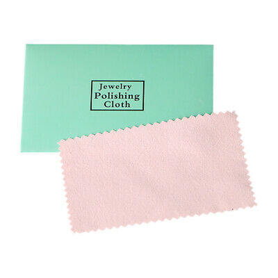 10 x Silver Polishing Cloths Jewellery Cleaning Cloth Clean Polish Sterling Ring