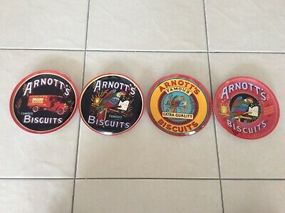 Arnotts biscuit collector plates