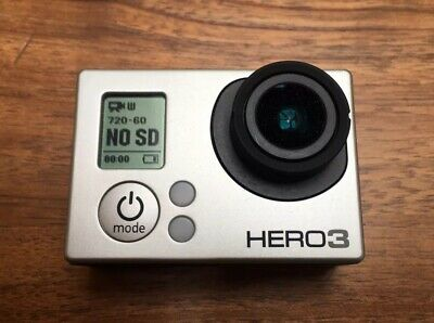 GoPro Hero3 Silver Edition With Accessories