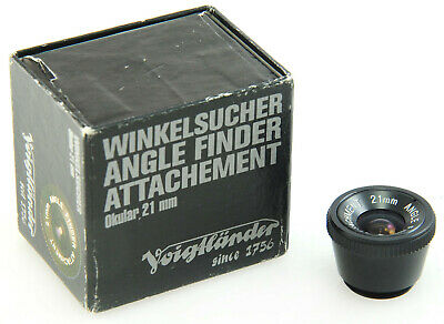 Voigtlander 21mm Ocular Attachment, for Angle Finder, with Box