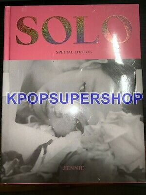 Jennie BlackPink Solo Photobook Limited Edition Photo Card New Sealed Rare OOP
