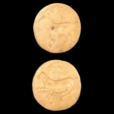 INDUS VALLEY STONE DOUBLE SIDED SEAL, RARE ANCIENT ARTIFACT, 3rd Millennium BC 3
