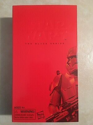 "Star Wars The Black Series SDCC 2019 Exclusive 6"" SITH TROOPER Brand New Sealed"