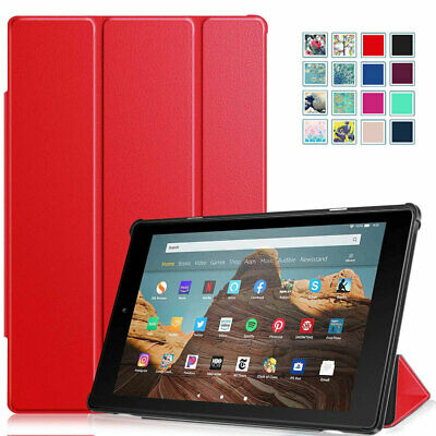 "For All-New Amazon Fire HD 10 9th 2019 10.1"" Tablet Slim Shell Case Cover Stand"