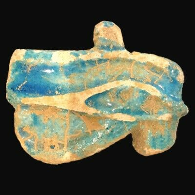 Rare Ancient Egyptian Eye Of Horus Amulet 300 B.c.