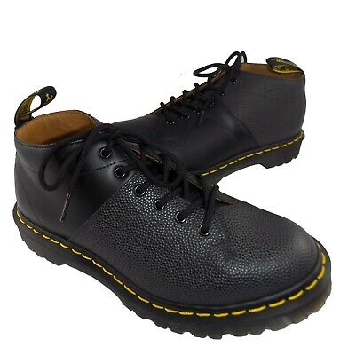 scarpa uomo dr martens  pelle nero shoes 40 41 42 43 44 made in england