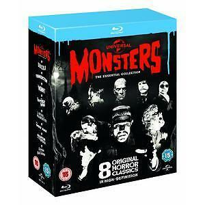 Universal Classic Monsters: The Essential Collection [Blu-ray] [1931] [Region Fr