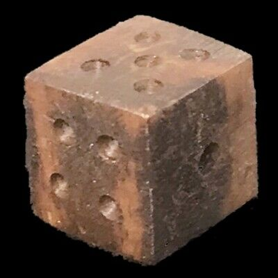 VERY RARE ANCIENT ROMAN PERIOD GAMING DICE 2nd-3rd Cent AD (2)