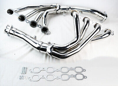 Stainless Race Exhaust Headers Manifolds for Chevy Corvette 2004-2019 C7 6.2L