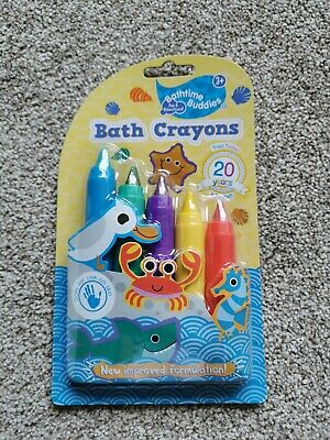 Bathtime Buddies Bath Crayons 3+ x5
