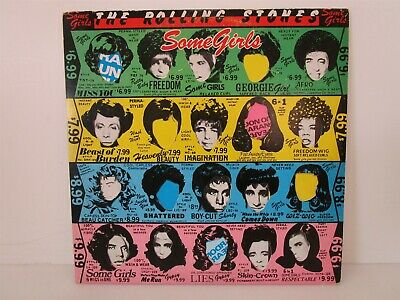 Rolling Stones Some Girls Mick Jagger Miss You Shattered 1978 Vinyl Record LP