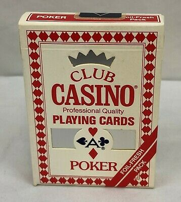 Rare VTG Arrco Club Casino Poker No. 88 Foil-fresh Sealed Pack of Playing Cards