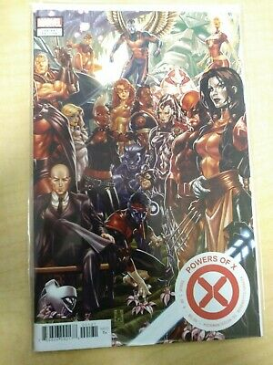 Marvel Comics Powers Of X #1 Mark Brooks Connecting Variant Cover.