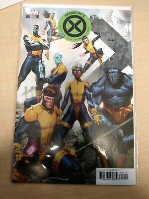 House Of X #4 (2019) Jorge Molina Connecting Variant Cover Hickman Hox/Pox