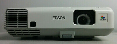 Epson PowerLite 905 LCD Projector H387A HDMI low lamp hours