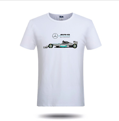 Mercedes AMG T Shirt Petronas Racing Motorsport F1 Merc Benz Formula 1 Mens