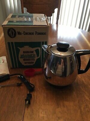 New Old Stock Jet-O-Matic Model 10 Coffee Maker Percolator Vintage Saladmaster