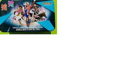Panini Adrenalyn Xl 136 Trading Cards London Olympics 2012 In Collectors Tin Box