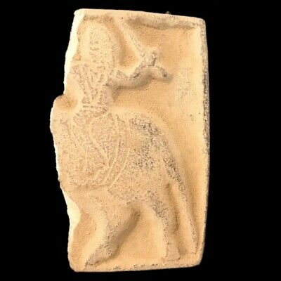 Rare Ancient Gandhara Stone Relief Wall Fragment 300 B.c.