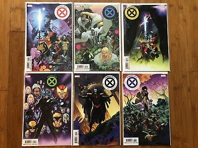 Xmen Powers Of X 1-6 2 3 4 5 Complet Set VF/NM Hickman DIGITAL CODES House