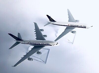 SINGAPORE A380 and/ or B777 Model PlaneScale Apx 14cm Long Diecast Metal Airline