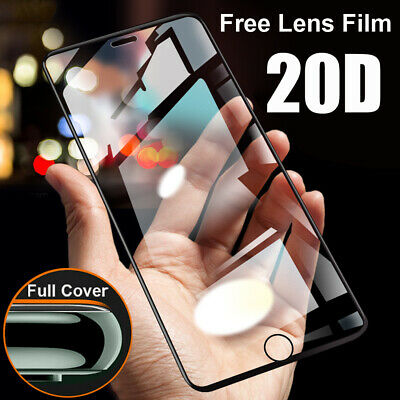 20D Full Protective Tempered Glass Film Screen Protector for iPhone 11 Pro Max X