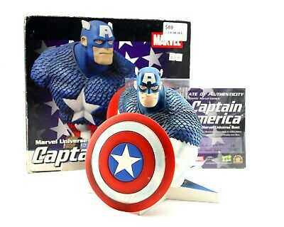 Marvel Universe Captain America Authentic Limited Edition Bust 16cm