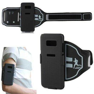 2in1 Sports Sweat proof Adjustable Case Cover Armband Belt for Samsung Galaxy S8
