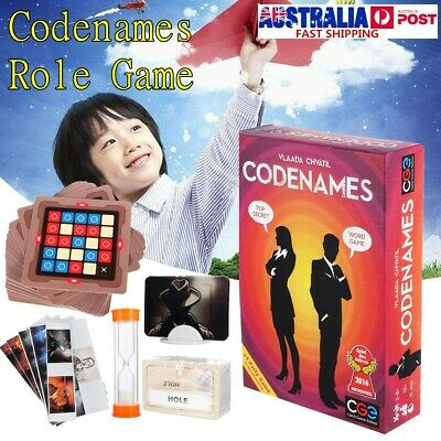 Codenames Deduction Card Party Board Game WORD GAME TOP SECRET Child Toy Gift