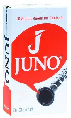 Box of 10 Juno by Vandoren Bb Clarinet Reeds 1.5 Strength - JCR0115