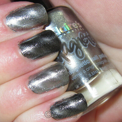 Claire's Claires Accessories Silver Magnetix Magnetic Nail Polish RRP £6 New