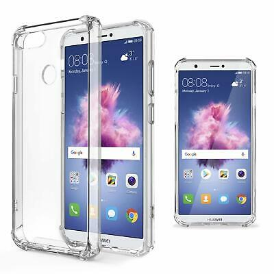 Coque Anti-choc Anti-chocs Silicone Dur Huawei P Smart FIG-LX1 Transparent