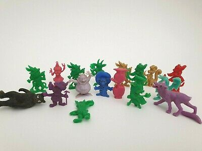 Kellogg's Cereal Toys, Society Zoo, Corny Canines, Vintage cereal toy