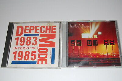 Depeche Mode - 'The Singles 81'>85' (Eu Issue) + 'Interviews 83'-85' Cd