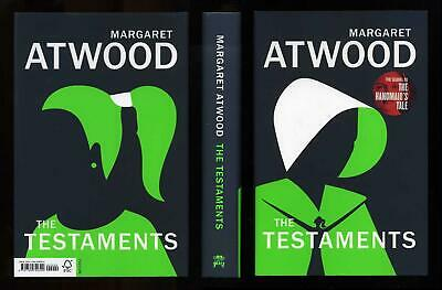 Margaret Atwood - The Testaments; 1st/1st + bookmark