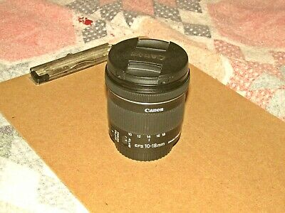 Canon EFS 10-18 MM F/4.5-5.6 IS STM