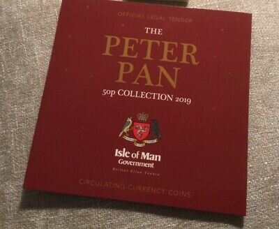 IOM Peter pan 50p Official Government Set